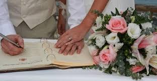 wedding signing signing wedding ceremony