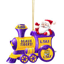 lsu tigers ornament collection the danbury mint