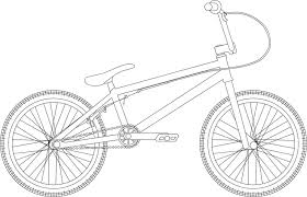 color pages of christmas coloring page 2 bmx bike coloring