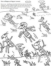 the 10 plagues of egypt locusts coloring pages jpg 1 019 1 319