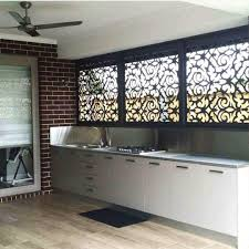 Screen Ideas For Backyard Privacy by These Morocco Screens Add Privacy To Your Bbq Alfresco Area Whilst
