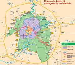 Map Of Rome Italy by Roma Rome