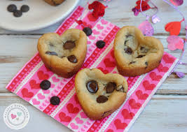 heart shaped cookies s day heart shaped chocolate chip cookies recipe