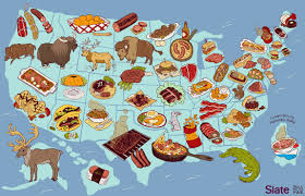 Cultural Regions Of The United States Map by United Steaks Of America Map If Each State Could Have Only One