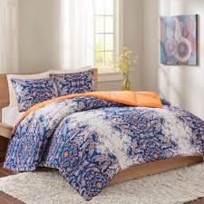 buy orange blue comforter sets from bed bath u0026 beyond