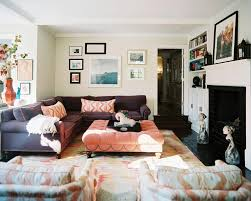 home ideas for living room living room decorating ideas with sectional terrific purple sofa