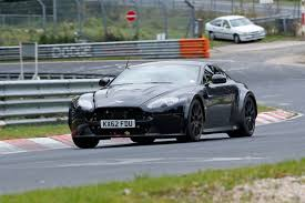 slammed aston martin track special aston martin v12 vantage spied at nürburgring