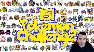 The Original Challenge The 151 Challenge W Adrive 151 Original From Memory