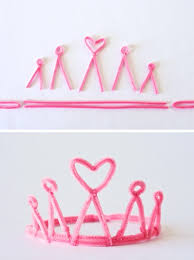 Tiara And Wand Favor by 7 Manualidades Infantiles Con Limpiapipas Wand Pipes And Crown