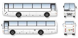 volvo van b10m van hool coach signwriter u0027s vector drawings blueprints
