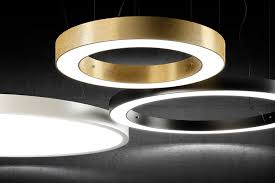 design leuchten led led ring design leuchten rings kollektion panzeri