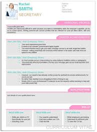 Resume For People With No Job Experience by Curriculum Vitae Cv Template Format Ready To Fill Up Resume New
