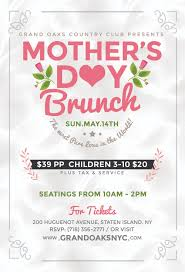 Mother S Day 2017 Mother U0027s Day Brunch Grand Oaks Country Club