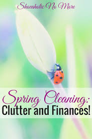clutter and finances shoeaholicnomore