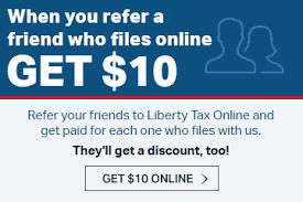 state tax filing liberty tax service