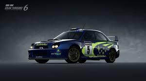 subaru rally car subaru impreza rally car u002701 gran turismo 6 kudosprime com