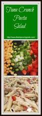 pasta salad with mayo the improving cook tuna crunch pasta salad