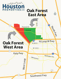 houston map buy oak forest houston map two new neighborhood maps of houston oak fores