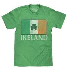 Flag Of Ireland Ireland Flag With Shamrock U2013 Tee Luv