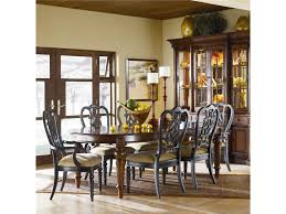 thomasville fredericksburg breakfront china cabinet with touch