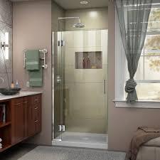 Plastic Pivot Hinge For Shower Door by Dreamline Unidoor 30 In W X 72 In H Frameless Hinged Pivot