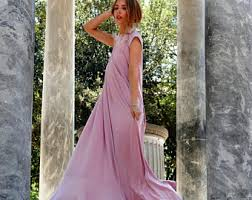 Draped Gown Draped Dress Etsy