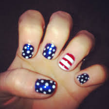 4th of july nails home coming nails my style pinterest