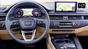 2016 audi a4 sedan quattro b9 generation interior design hd