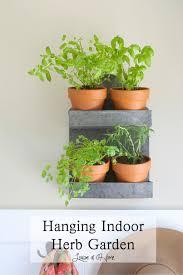 hanging herb garden last summer i kept a gathering of potted