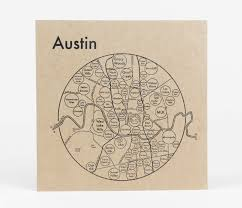 Map Of Austin Archie U0027s Press Circle Map Of Austin At Buyolympia Com
