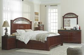 master bedroom sets furniture decor showroom traditional brown ornate master bedroom group queen king bed under bed drawer storage