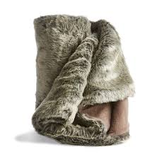 Faux Fur Comforter Reindeer Faux Fur Throw Kmart Style My Home Pinterest