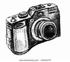 royalty free photo camera hand drawing sketch vector 234954607