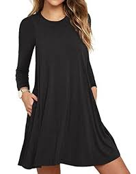 unbranded s sleeve pocket casual t shirt dress