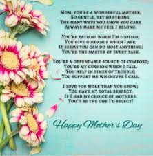 to the best mom happy mother s day card birthday 25 best mothers day poems 2018 to make your mom emotional