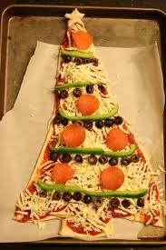 monograms u0027n mud christmas tree pizza u0026 wreath salad family