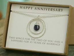 45 year anniversary gift 45th anniversary present 9 beautiful 45th wedding anniversary gift