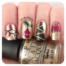 16 cutest christmas nail designs u2013 top new simple trend for winter