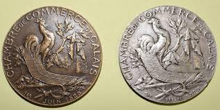 chambre de commerce de calais médailles et récompenses liées à l activité du courgain maritime