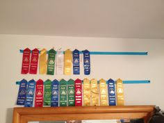 ribbon display swim team ribbon display something to do with the never ending
