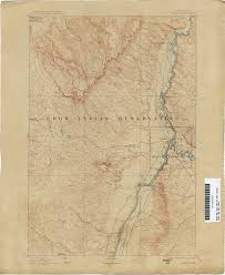 Old Map Of Seattle by