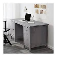 Gray Office Desk Hemnes Desk Gray Stained Ikea