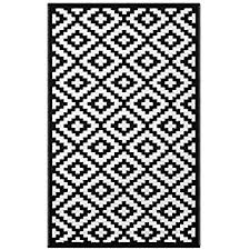 Modern Black Rug Contemporary Black And White Rugs Within Chevron Design