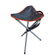 folding tripod stool outdoor portable seat fishing camping picnic