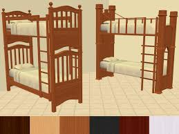 4 Bed Bunk Bed Mod The Sims Shaundak U0027s Ts3 Ts2 Converted Bunk Beds Recoloured