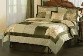 Cream Colored Comforter Bedroom Sunham Eames 108 Piece King Comforter Set Sage Greenmocha