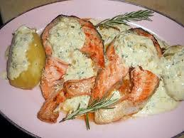 recette de cuisine saumon recette de darne de saumon sauce échalotes