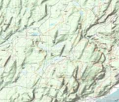 Washington State Topographic Map by Tahuya State Forest Mountain Biking And Hiking Trails