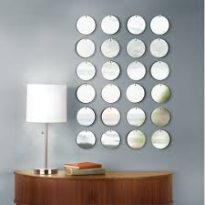 Round Mirrors Beauty Round Mirror Wall Decor Jeffsbakery Basement U0026 Mattress