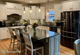 kitchen makeover with cabinets traditional kitchen makeover with painted cabinets funcycled